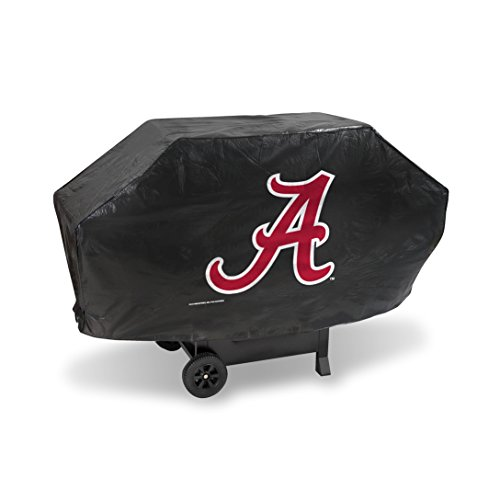 NCAA Alabama Crimson Tide Vinyl Padded Deluxe Grill Cover