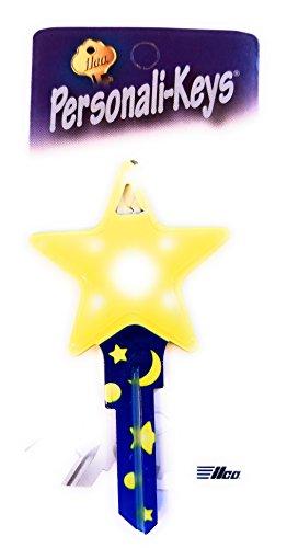 (Ilco Star Shape Personali-Key Kwikset KW Key Blank)
