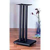 RF series Heavy Duty Speaker Stand in Black - Set of 2 (24 in. H (27 lbs. pair))
