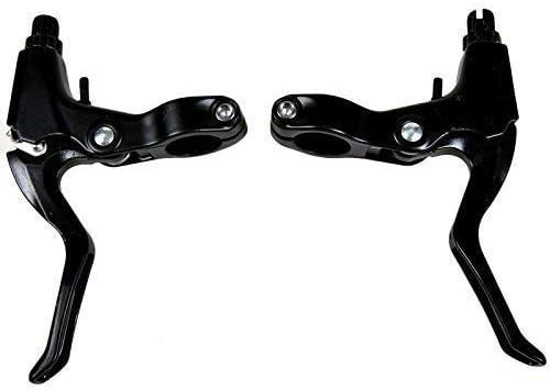 IDS 1 Pair Universal Full Aluminum Alloy Mountain Road Bike Brake Lever Bicycle Brake Handle 2.2cm Diameter 3-Finger Bike Brake Lever