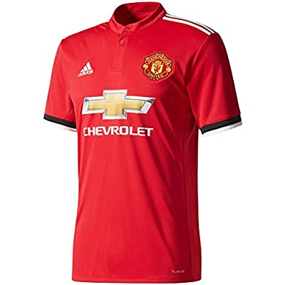 Adidas Mens Manchester United 17/18 Home Replica Jersey
