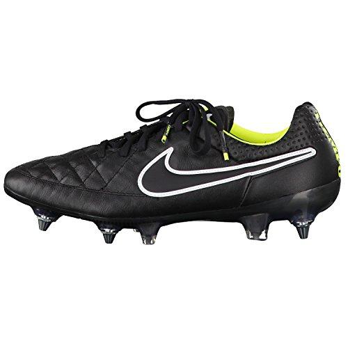 Nike - Botas de fútbol de cuero para hombre multicolor multicolor talla única negro negro Talla:8 negro - negro
