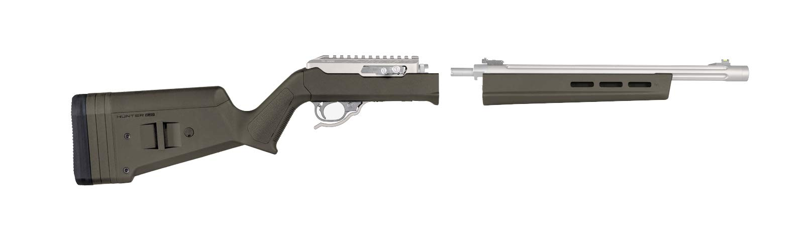 Magpul Hunter X-22 Takedown Stock for Ruger 10/22 Takedown MAG760-ODG by Magpul