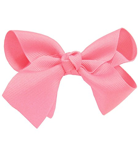Pink Large Girl Bow Hair Clip - Romantic Large Bow Hair Clip In Lovely (Lovely Pink Bow)