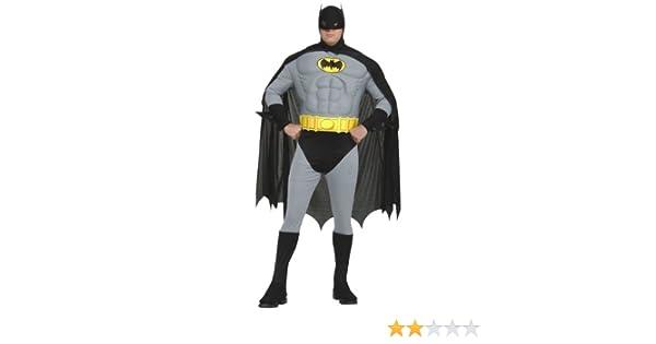 Amazon.com: Adult Plus Size Batman Costume - PL: Clothing