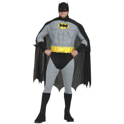 Muscle Chest Classic Batman Plus Size Adult Costume Plus Size (Large Image)