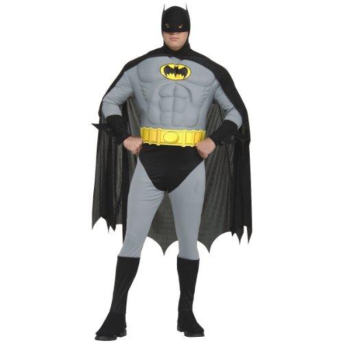 (Muscle Chest Classic Batman Plus Size Adult Costume - Plus)