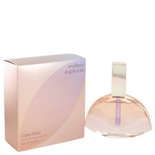 Cålvin Klêin Endléss Eùphoria Perfumé For Women 4.2 oz Eau De Parfum Spray +FREE VIAL SAMPLE (By Calvin Klein Euphoria For Women)