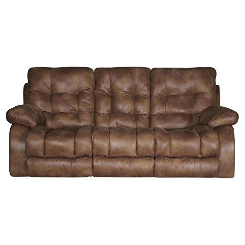 Catnapper Watson Lay Flat Reclining Sofa in Almond