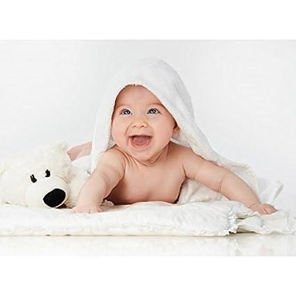 Toalla para bebes me microfibra. Baby Toalla IRISANA: