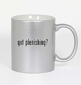 got plenishing? - 11oz Silver Coffee Mug