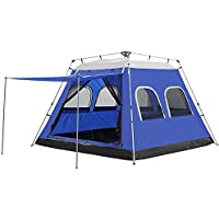 Night Cat Cabin Tents 4 6 Person, Family Camping Tents...