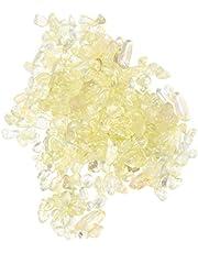 Generic 200g Irregular Decorative Pebbles Crystal Crushed Chips Stones Rock Sand Gems Beads for Aquarium Fish Tank Vase Fillers Air Plants Decor