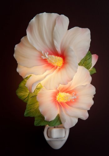 Price comparison product image Ibis & Orchid Rose of Sharon Night Light 50169