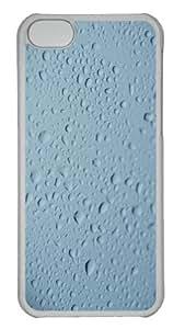 Customized Case Nature Rain 2 PC Transparent for Apple iPhone 5C