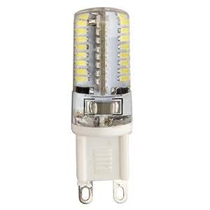 G9 3W 64 LED 3014 SMD Lámpara Bombilla 3000K Luz Blanco Cálido