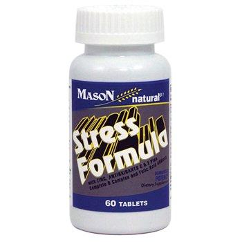 Mason Vitamins Stress Formula with Zinc Tablets, 60 Count