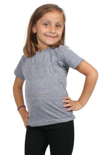 American Apparel Kids Tri-Blend Short Sleeve T - Athletic Grey TR01 6