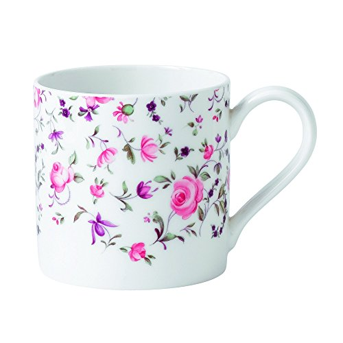 (Royal Albert Rose Confetti Casual Modern Mug, White)