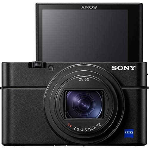 Sony Cyber-Shot DSC-RX100 VII Digital Camera w/ 32GB Memory and Striker Advanced Bundle…