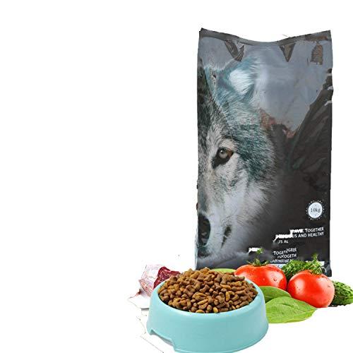 Natural Nutrition Full-Term Dog Food 10kg Golden Mao Samoyed Labrador Young Adult Dog General Dog Food 20 kg,Beef Flavor