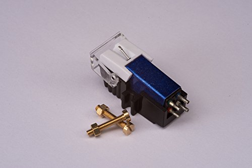 Cartridge and Stylus, needle with mounting bolts for Pioneer PL4, PL445, PL5, PL6, PL707, PL740, PL750, PLL1000, PL600, PL620, PL640, PL7 by Audioorigin