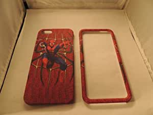 Spiderman Apple Iphone 5 Faceplate Case Cover Snap On