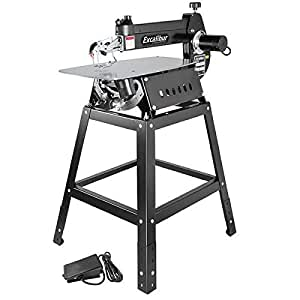 """Excalibur 21"""" Scroll Saw Promo Package"""