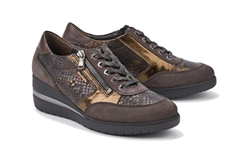 Dark Nubuck Patrizia EU Brown 37 MOBILS Womens Shoes aqvTw7