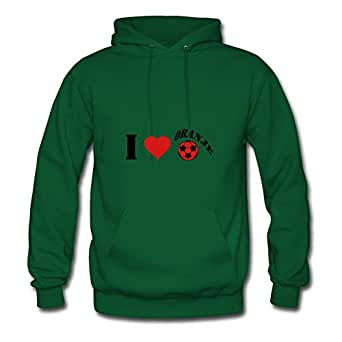 I_love_oranje Lovely X-large Sweatshirts Customizable For Women Green