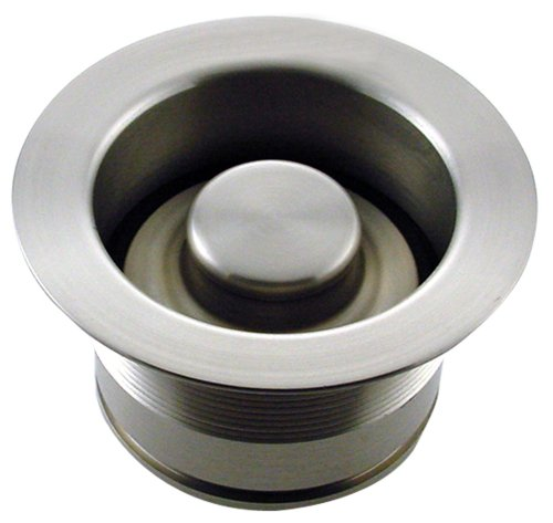 Mr. Scrappy CSFS-SN-93 Custom Color Sink Flange and Stopper Set, Satin Nickel