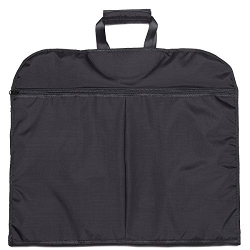 Travel Garment Bag, Suit bag for traveling & Business Trips Carry on garment bag with zipper pockets 40 Inch