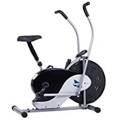 BRF700 Features: -Dual action fan bike for upper and lower body workout. -Adjustable seat height. -Manual tension control - easily adjust with the turn of a knob. -High momentum fan blades produce a gentle breeze as you exercise. Bike Type: -...