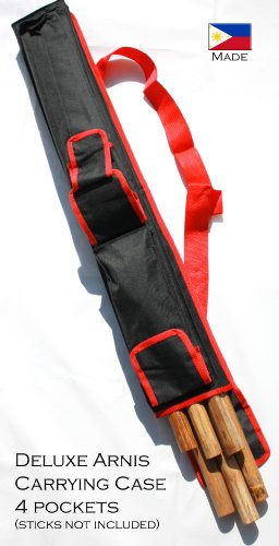 Sport Carrying Case 2.5 Feet Long for Arnis (Red)