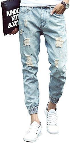 (ゆうや)YoYeahメンズ ジーンズ スキニー ジーパン ズボン 大きいサイズ ストレッチ デニムパンツ ストレートジーパン ロングパンツ 人気ブランド パンツ ジーパン ジーンズ デニム 美脚 細身