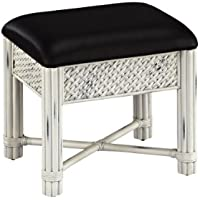 Home Styles Marco Island Vanity Bench with White Finish