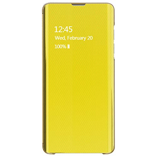 Hovisi Case for Samsung Note 8/9 Case Ultrathin Perspective Hand Case (Note 8, Yellow)