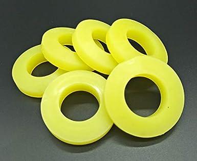 Amazon.com: Ochoos - 5 arandelas de goma de poliuretano ...