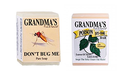 Grandma's Pure & Natural Poison Ivy Bar and 2.15OZ Don't ...