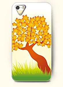 SevenArc Phone Case Design with Tree with Orange Leaves for Apple iPhone 5 5s 5g