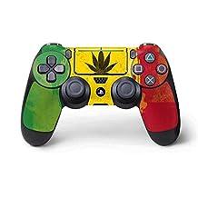 Rasta PS4 Pro/Slim Controller Skin - Marijuana Rasta Distressed | Skinit Lifestyle Skin