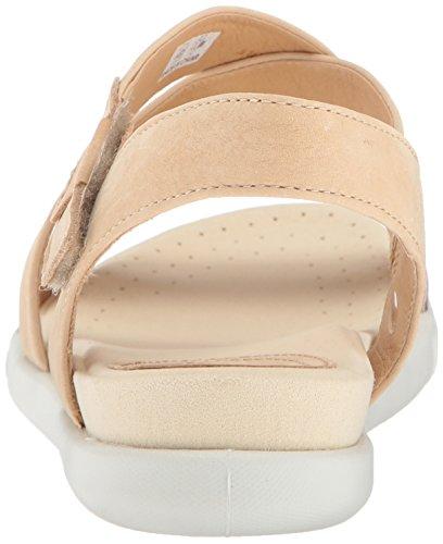 Grey Powder Damara Punta Sandalias Mujer con Abierta ECCO Sandal Warm Gris para vwqS6P1W