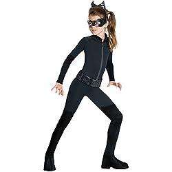 Rubie's Disfraz de Gato de Batman Dark Knight Rises para niño, Un Solo Color, Large