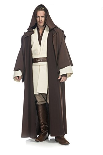 Star Wars Deluxe Obi Wan Kenobi Costume, Large - Star Wars Deluxe Han Solo Adult Costumes