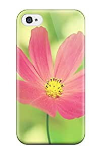 Iphone 4/4s Cover Case - Eco-friendly Packaging(flower)