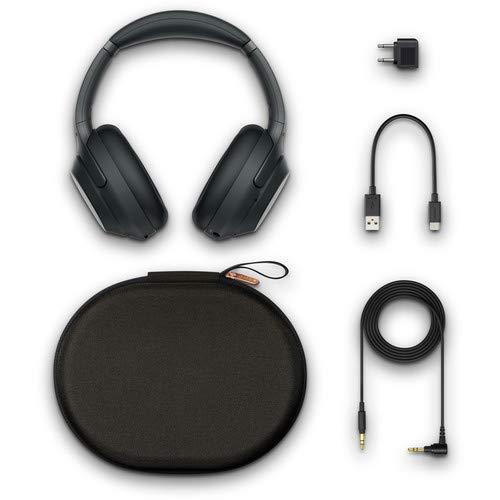 Sony WH-1000XM3B Wireless Bluetooth Noise-Canceling Over-Ear Headphones (Black) Basic Headphone Bundle Kit with Stylus