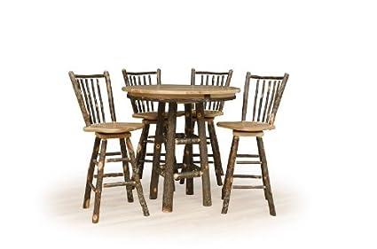 Amazoncom Hickoryand Oak Pub Table TABLE ONLY High - 36 high pub table