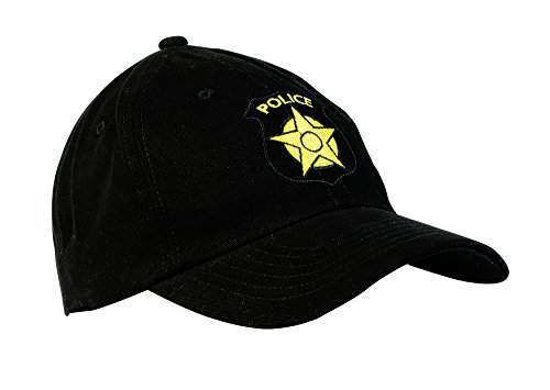 Aeromax Police Officer Cap Costume Headwear, One Size,