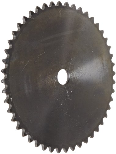 Browning 35A48 Plate Roller Chain Sprocket, Single Strand, Type A Hub, Steel, 5/8