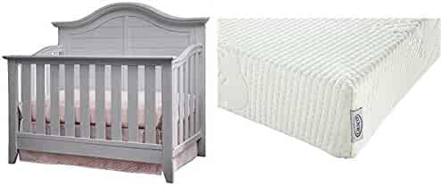 Thomasville Kids Southern Dunes Lifestyle 4-in-1 Convertible Crib - Pebble  Gray with 9eb1f1710